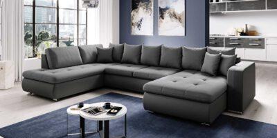 Canapé d'angle Fado U dans le salon