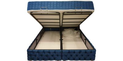 boxspring blue storage