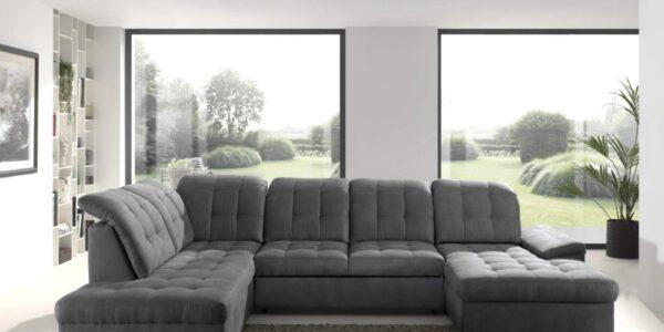 zetel lounge nicole grijs