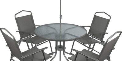Zetels en bedden  tuinmeubelset