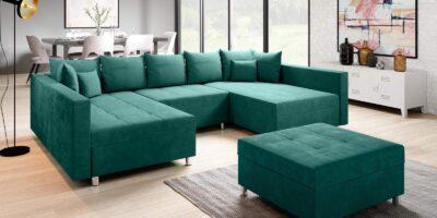 Zetels en bedden  hoeksalon